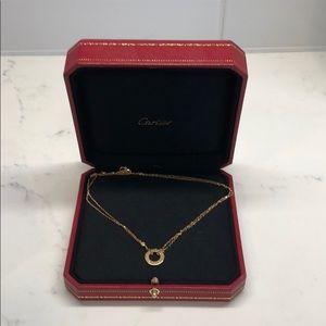 Cartier Love Necklace two diamonds